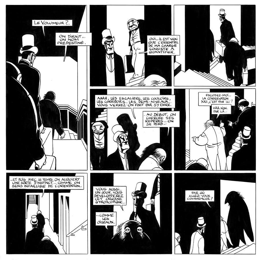 Les Sous-Sols du Révolu, Marc-Antoine Mathieu